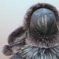Шапка-ушанка Метелица (серый)