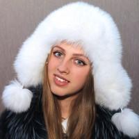 Ушанка Беатриче (белый)