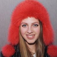 Ушанка Беатриче (красный)